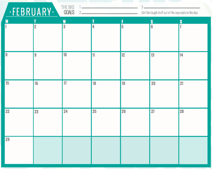 The calendar prints up to A1 size and is the perfect way to see your ...